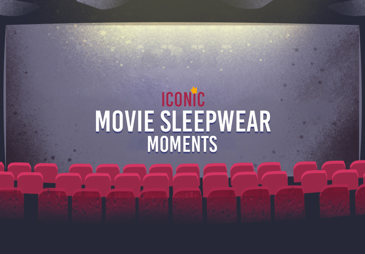 Iconic Movie Sleepwear Infographic
